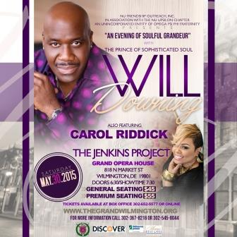 An Evening with Will Downing