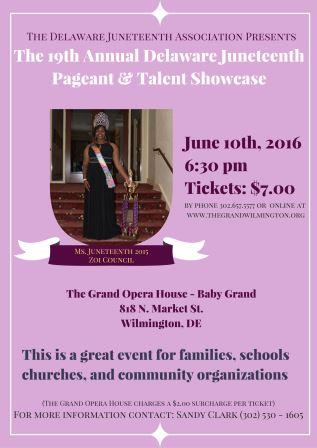 Juneteenth Youth Pageant