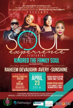 The Soul Experience featuring Kindred The Family Soul