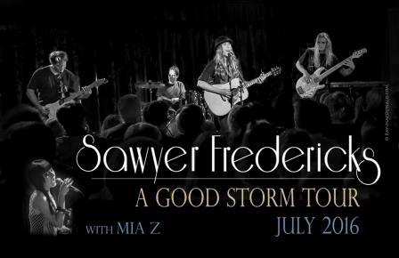 Sawyer Fredericks - A Good Storm Tour with MIA Z