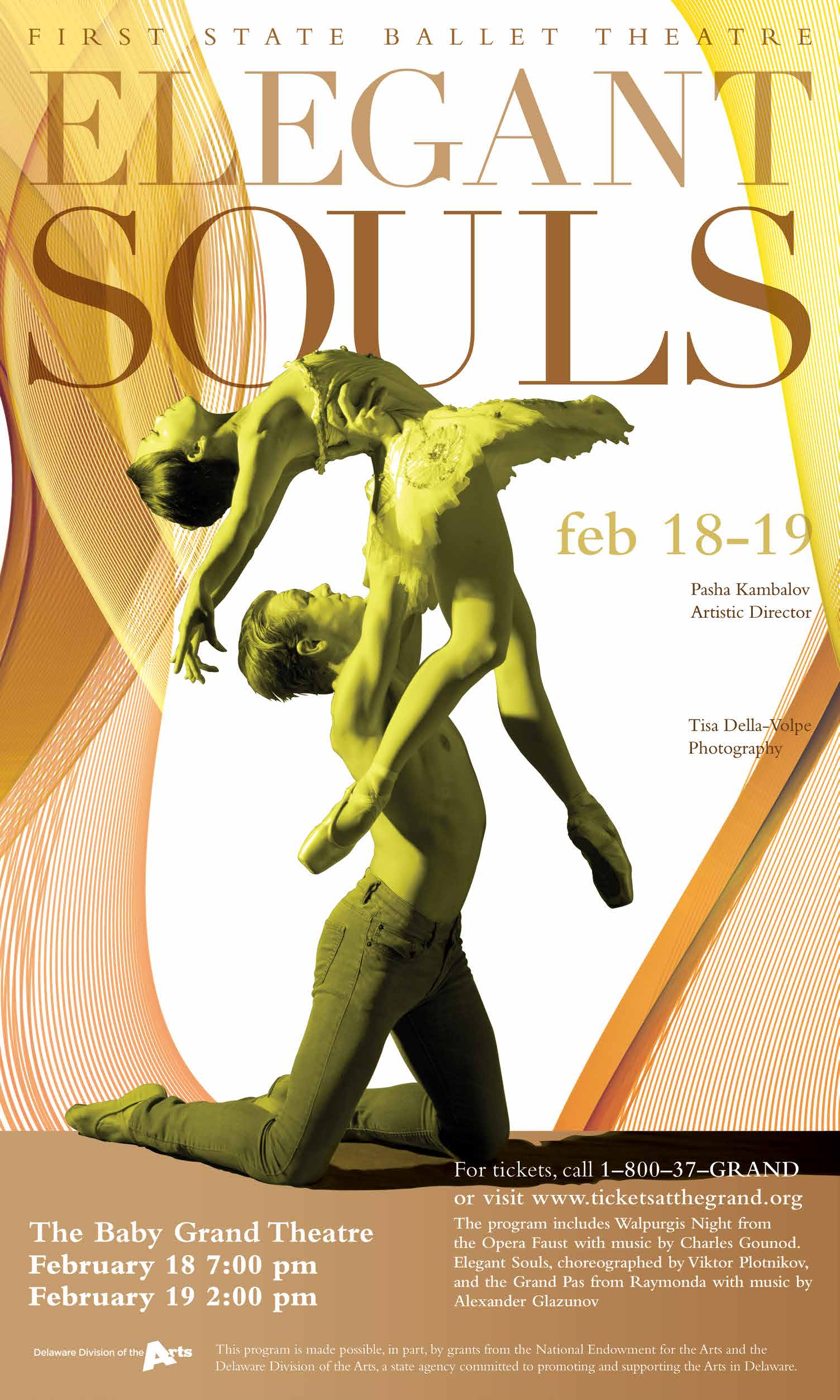 First State Ballet<br>Elegant Souls: A Triple Bill