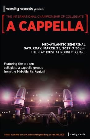Varsity Vocals Presents<br>ICCA MidAtlantic Semifinals