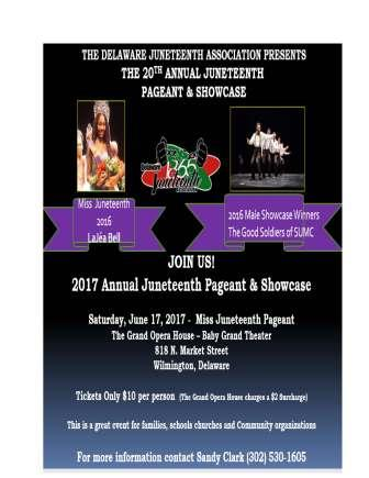 20th Annual Juneteenth Pageant