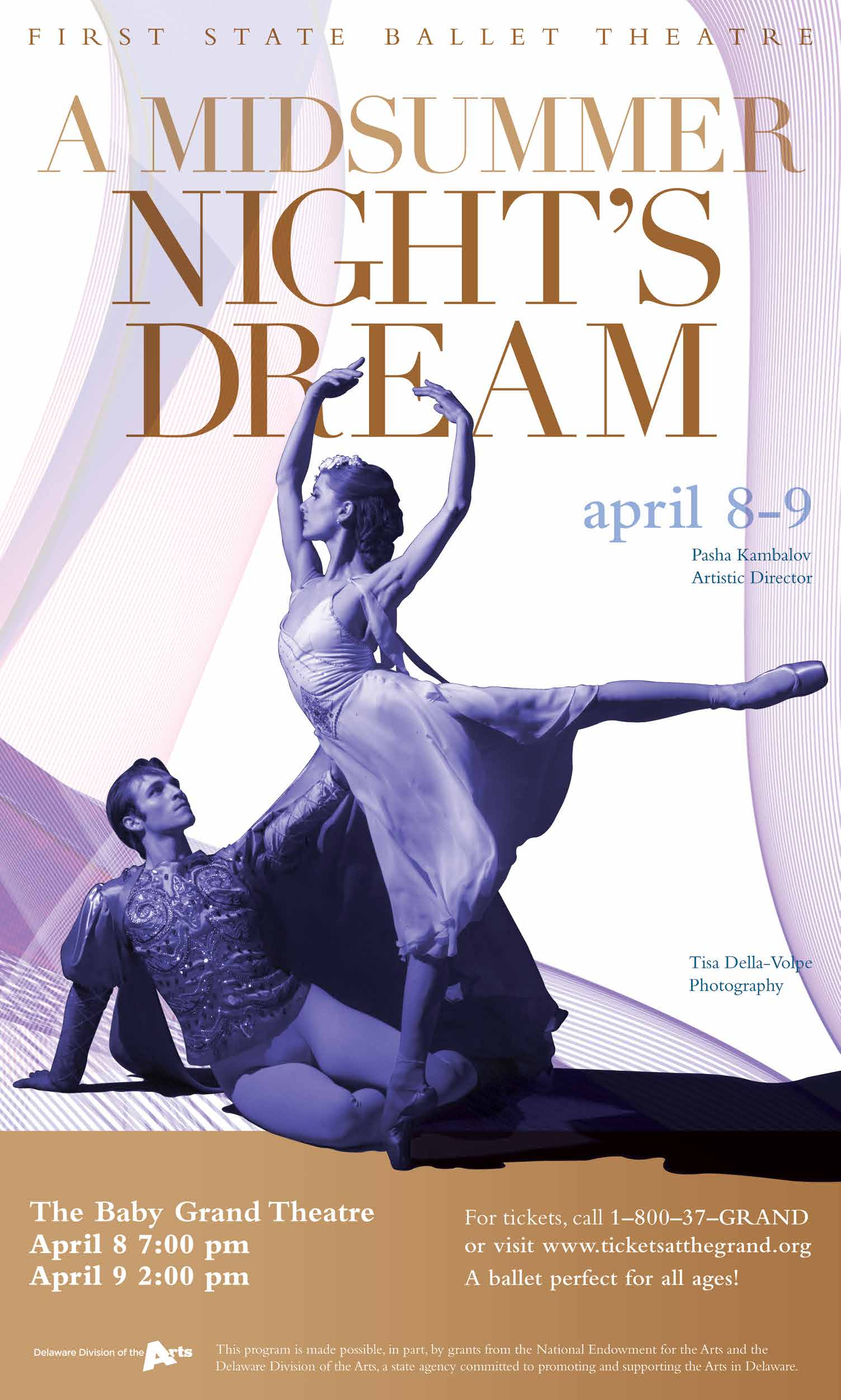 First State Ballet<br>A Mid Summer Night's Dream