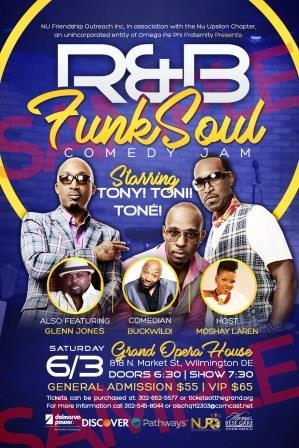 R & B Funk Soul Comedy Jam