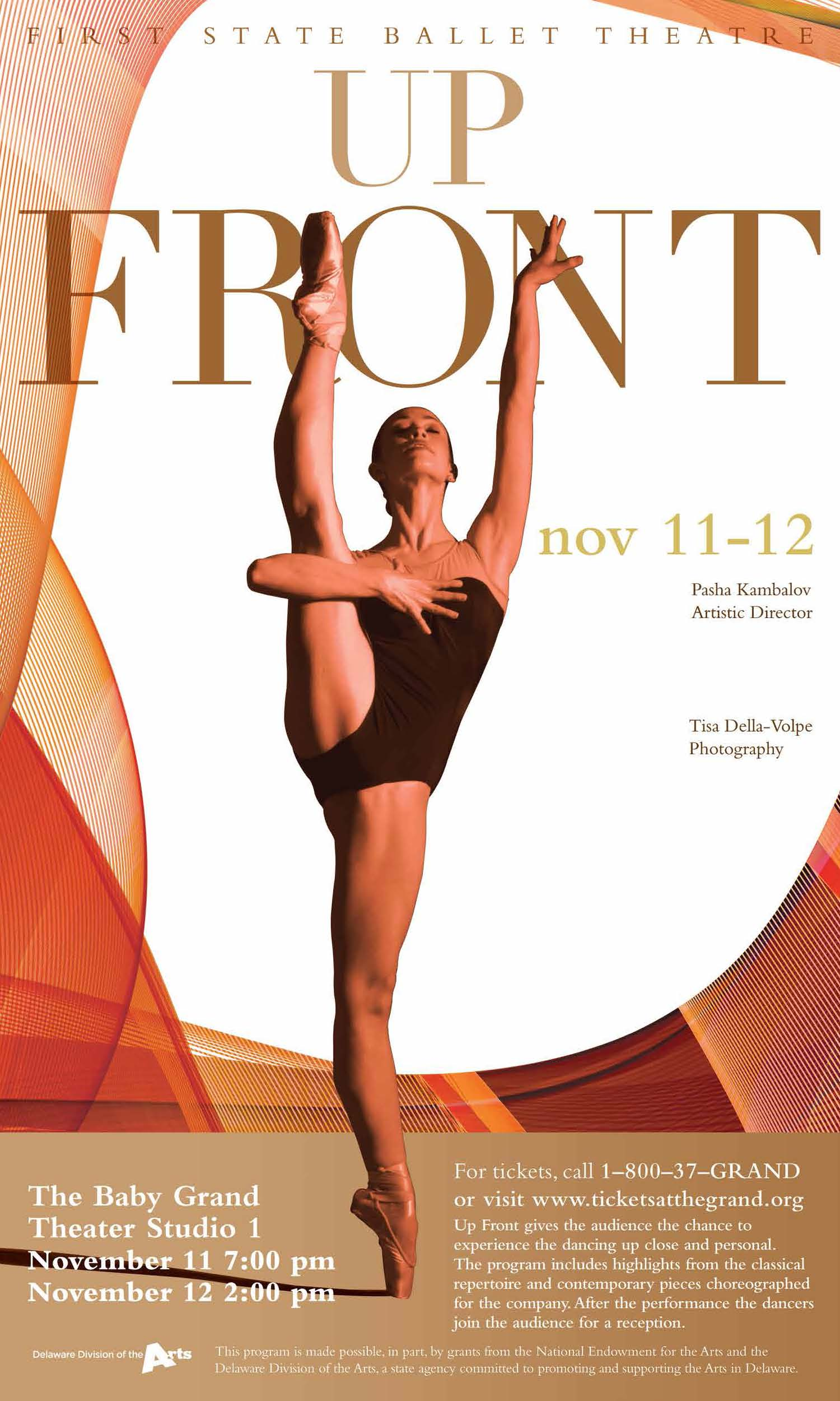 First State Ballet<br>Up Front with FSBT