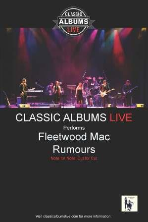 Classic Albums Performs Fleetwood Mac Rumours