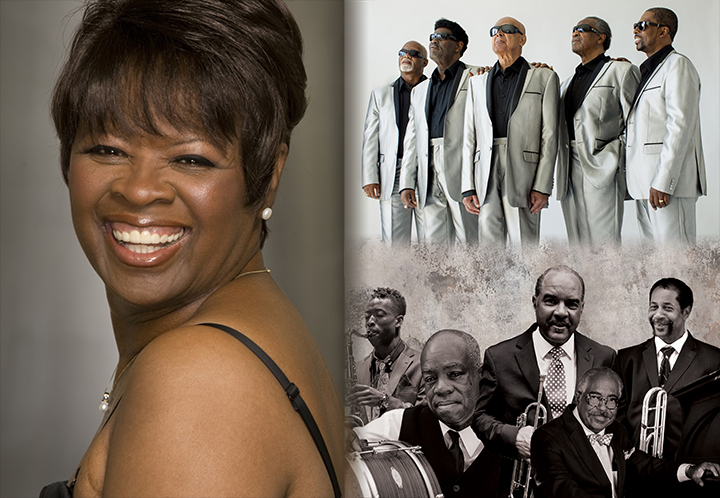 Irma Thomas, Blind Boys of Alabama and The Preservation Hall Jazz Band