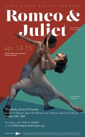 The First State Ballet presents Romeo & Juliet