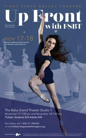 The First State Ballet presents Up Front