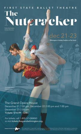The First State Ballet Presents:<br>The Nutcracker