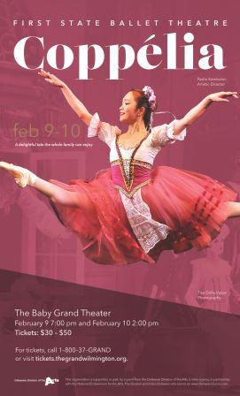 The First State Ballet Presents:<br>Coppelia