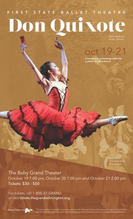 The First State Ballet Presents:<br>Don Quixote
